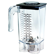 Hamilton Beach 6126-750 48 oz./1.4 L Polycarbonate Blender Container - Blender Parts and Accessories