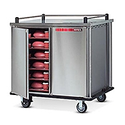 Dinex 7-Tray Room Service Tray Delivery Cart - Dinex