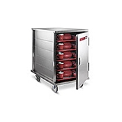 Dinex 10-Tray Room Service Tray Delivery Cart - Dinex