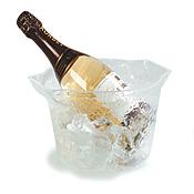 Carlisle IG101107 Acrylic Wine/Ice Buckets with Handles - Carlisle