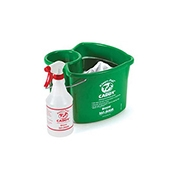 San Jamar KP500 Kleen-Pail Caddy System - Buckets and Pails