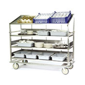 Lakeside B592 Soiled Dish Breakdown Cart - Lakeside