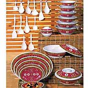 Thunder Group 2008Tr Longevity Soup Plates - Dinner Plates