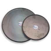 """Matfer Bourgeat 310409 15-3/4"""" Black Steel Round Oven Sheet - Matfer Bourgeat"""