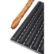 Matfer Bourgeat 311121 6 Baguette French Bread Pan - Matfer Bourgeat