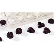 Matfer Bourgeat 380105 Chocolate Sheet 24 Different Shapes - Matfer Bourgeat