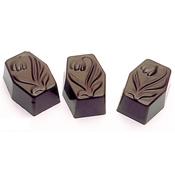 Matfer Bourgeat 380107 Chocolate Sheet Tulip Rectangle - Matfer Bourgeat