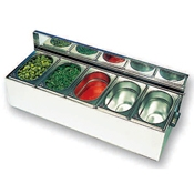 Matfer Bourgeat 511510 Condibox - Condiment Servers