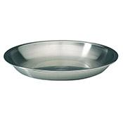 """Matfer Bourgeat 713735 Stainless Steel Seafood Tray - 13-3/4"""" - Matfer Bourgeat"""