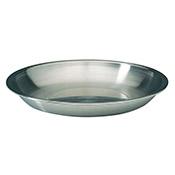 """Matfer Bourgeat 713740 Stainless Steel Seafood Tray - 15-3/4"""" - Matfer Bourgeat"""