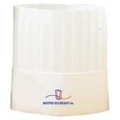 Matfer Bourgeat 760321 Small Disposable Hats with Pleated, No Top - Matfer Bourgeat