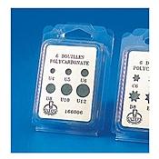 Matfer Bourgeat 166006 Polycarbonate Plain Tips Set of 6 - Matfer Bourgeat