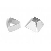 Matfer Bourgeat 375078 Mold Convex Triangle - Matfer Bourgeat