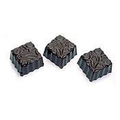 Matfer Bourgeat 380106 Chocolate Sheet Flowers Square - Matfer Bourgeat