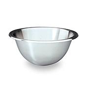 """Matfer Bourgeat 703020 8"""" Hemispherical Bottom Stainless Steel Mixing Bowl - Matfer Bourgeat"""