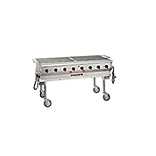 """MagiKitch'n 60"""" Transportable Natural Gas Grill"""