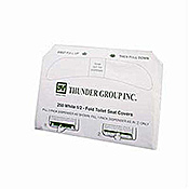 Economy Half-Fold Toilet Seat Covers - Toilet Paper