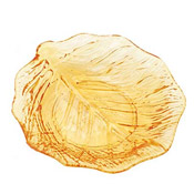 "Thunder Group 9"" Acrylic Leaf Plates - Servingware"