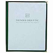 "Thunder Group Plmenu-1Ma 1-Page Menu Folder 8-1/2"" X 11"" - Menu Holders"