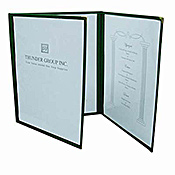 "Thunder Group Plmenu-3Ma 3-Page Menu Folder 8-1/2"" X 11"" - Menu Holders"