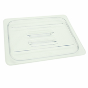 Thunder Group Plpa7120C 1/2-Size Solid Polycarbonate Food Pan Lid - Steam Table Pan Lids