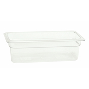 "Thunder Group Plpa8134 1/3-Size 4""D Polycarbonate Food Pan - Third Size Steam Table Pans"