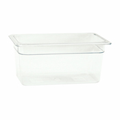 "Thunder Group Plpa8136 1/3-Size 6""D Polycarbonate Food Pan - Third Size Steam Table Pans"
