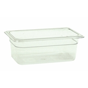 "Thunder Group Plpa8144 1/4-Size 4""D Polycarbonate Food Pan - Fourth Size Steam Table Pans"