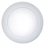 "Party Essentials N1021 10.25"" Clear Party Plate - Party Essentials"