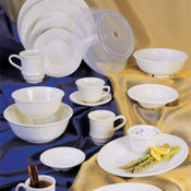 "G.E.T. Princeware Dinnerware 10.25"" Plates - Dinner Plates"