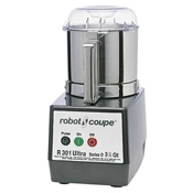 Robot Coupe R301 ULTRA B Food Processor with 3.5 Qt. Stainless Steel Bowl - Automatic Food Processors