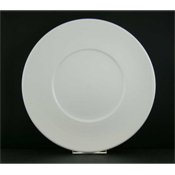 "Vertex China RA-21 Maxxi Rim Plate 12-1/8"" - Dinner Plates"