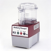 Robot Coupe R2BCLR Food Processor with 3 Qt. Clear Polycarbonate Bowl - Automatic Food Processors