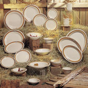 "G.E.T. Rodeo Dinnerware 10.25"" 3-Compartment Plates - Dinner Plates"