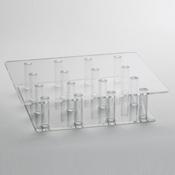Rosseto Clear Blossom Tray - 16 - Servingware
