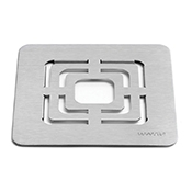 "Rosseto SM139 10"" Square SS Grill Top - Display Risers"