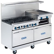 "Royal Range RR-6G24 6 Open Burner And 24"" Griddle - Restaurant Ranges"