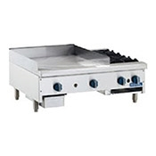 "Royal Range RMG-24 24"" Manual Griddle - Countertop Gas Commercial Griddles"