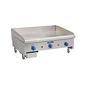 "Royal Range RMG-36 36"" Manual Griddle - Countertop Gas Commercial Griddles"