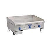 "Royal Range RSMG-36 36"" Manual Snack Griddle - Countertop Gas Commercial Griddles"