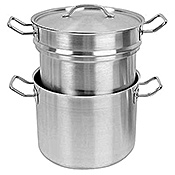 Economy 8 qt Stainless Steel Double Boiler