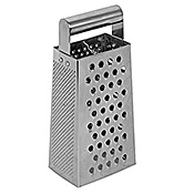 Economy Stainless Steel Grater with Handle
