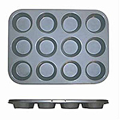 Economy Non-Stick Muffin Pan with 12 Regular Cups