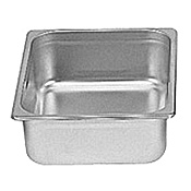 "Winco Anti-Jam 1/2 Size, 4"" D Steam Table Pan"