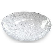 Service Ideas Clear Metropolis Oval Plate - Dinner Plates