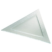 Service Ideas Eco-line Large Triangle Plate - Dinner Plates