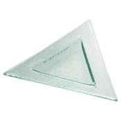 Service Ideas Eco-line Small Triangle Plate - Dinner Plates