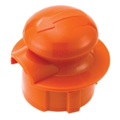 Service Ideas Orange Stopper Lid for CGC - Coffee Carafes and Servers