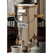Service Ideas Chrome Coffee ID Chain - Coffee Carafes and Servers