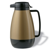 Service Ideas 1L Push Button Server - Coffee Carafes and Servers